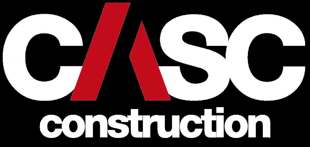 casc construction logo
